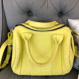 Alexander Wang Bright Yellow ROCKIE Bag